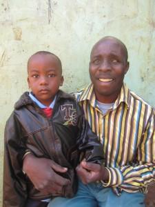 Patrick Auoki and Son