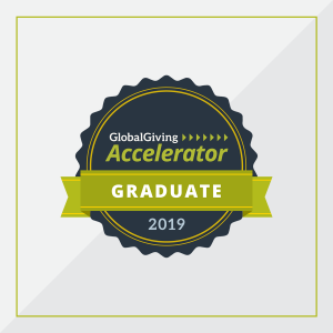 Global Giving accelerator badge
