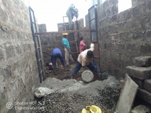 Building new classrooms