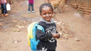 Child in Kibera